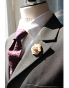 Sydney- Lapel Pin Embroidered brooch haute-couture for Stylish Men