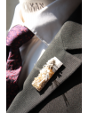 Rome - Lapel Pin Embroidered brooch haute-couture for Stylish Men