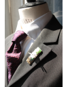 Hong-Kong - Lapel Pin Embroidered brooch haute-couture for Stylish Men