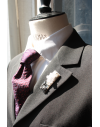 Berlin - Lapel Pin Embroidered brooch haute-couture for Stylish Men