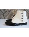 Luxury Men's Spats Sand corduroy velvet for elegant men dandy loving the vintage style