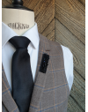 Auckland - Lapel Pin Embroidered brooch haute-couture for Stylish Men