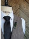 Rio de Janeiro - Lapel Pin Embroidered brooch haute-couture for Stylish Men