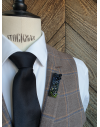 Mumbai - Lapel Pin Embroidered brooch haute-couture for Stylish Men